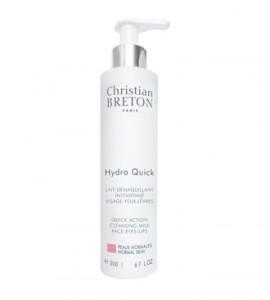 Christian Breton HYDRA QUICK aktív tisztító hidratáló tej