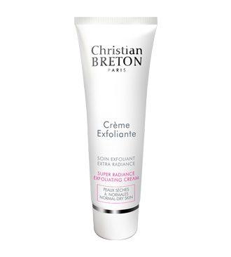 Christian Breton Super Radiance krémes bőrradír száraz és normál bőrre