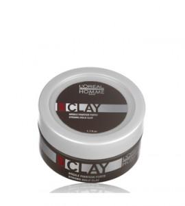 L'Oréal Homme Clay extra tartású wax matt hatással