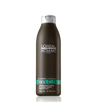 L'Oréal Homme Cool Clear korpásodás elleni sampon férfiaknak