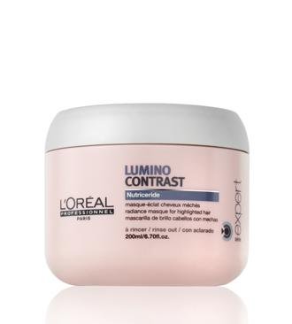 L'Oréal Lumino Contrast zselépakolás melírozott hajra