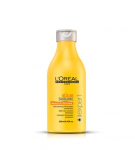 L'Oréal Solar Sublime napozás utáni sampon