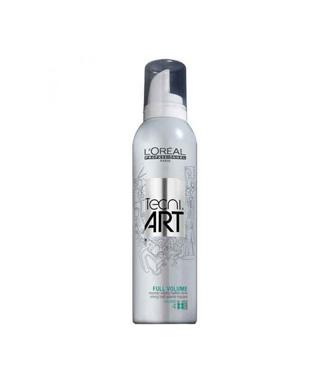 L'Oréal Tecni.Art Full Volume - közepesen erősen fixáló hab
