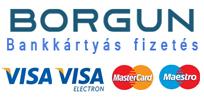 Borgun online bankértyás fizetés