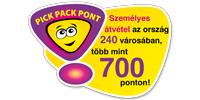 Pick Pack Pont csomag átváteli helyek